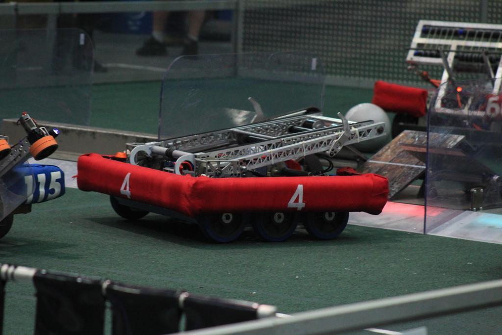 Robot action shot