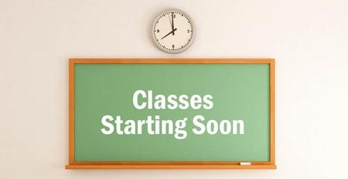 Classes Start Thursday, Jan. 5th!!! Featured Photo