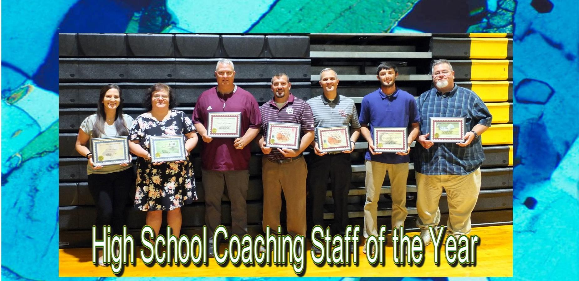 High School Coaches of the Year