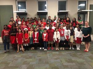 Presidential Meadows Elementary Choir