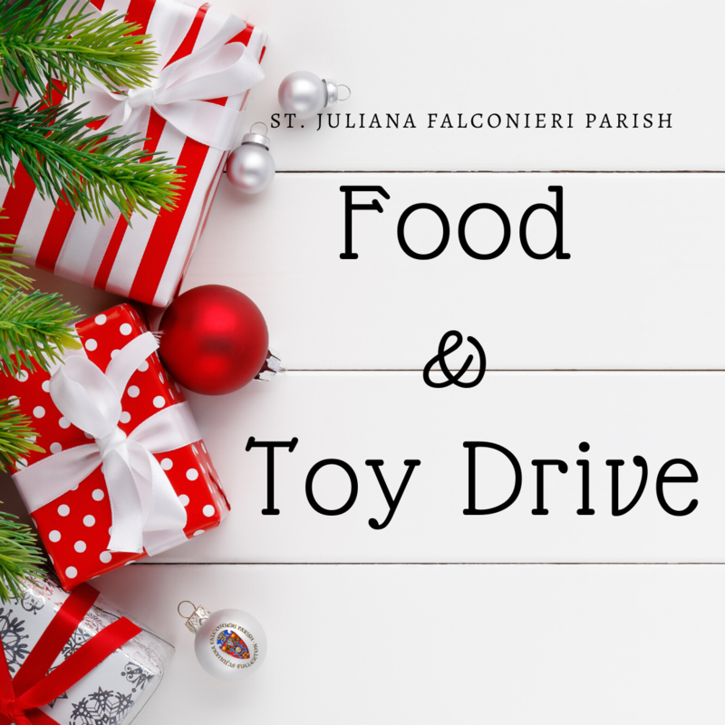 Food and Toy Drive Featured Photo