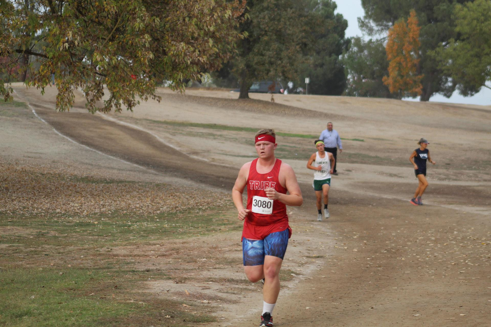 Zack Ellison running