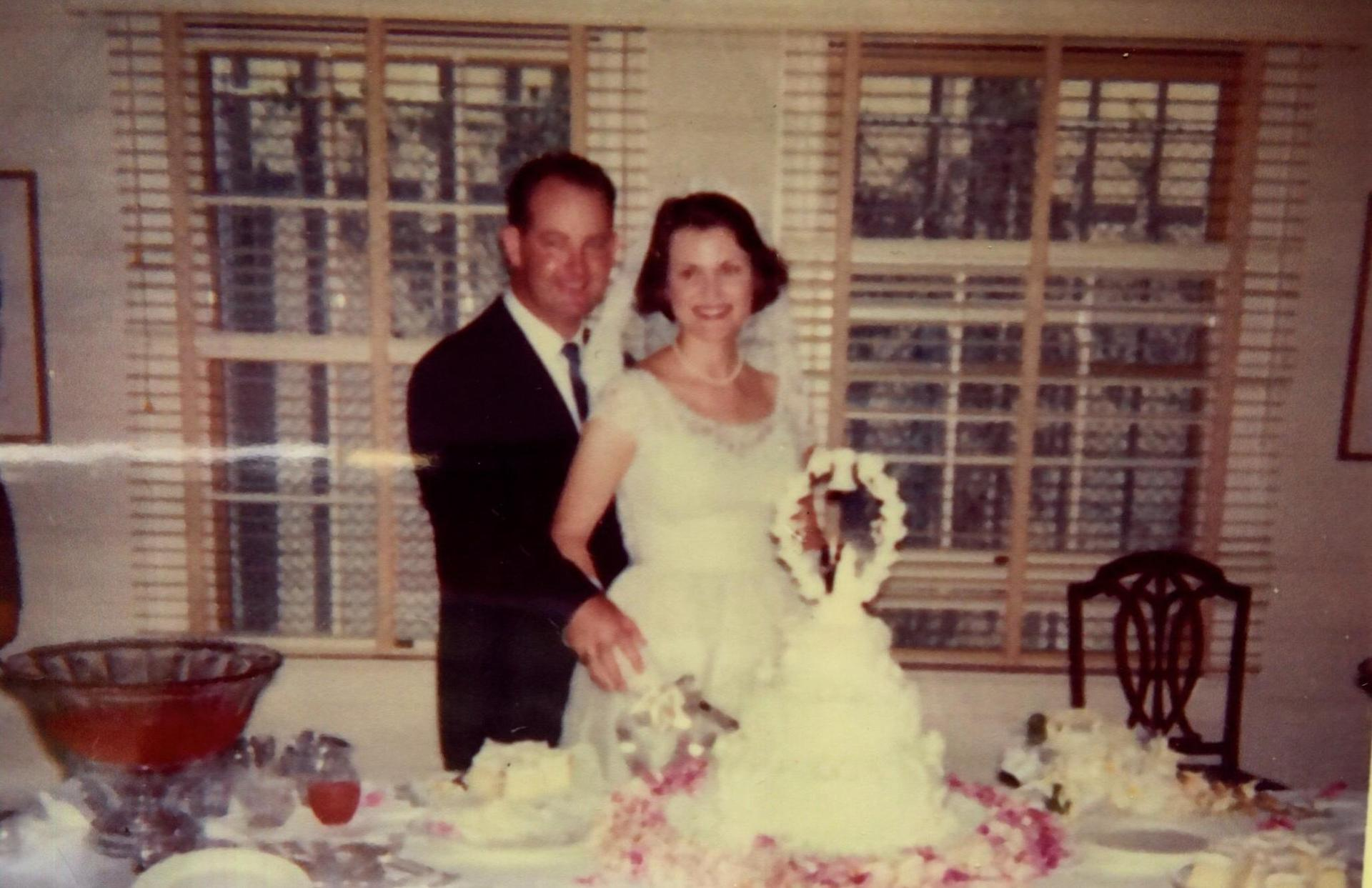 Don Hastings married his wife, Kay in 1962 and had their wedding reception in the Reiterman House