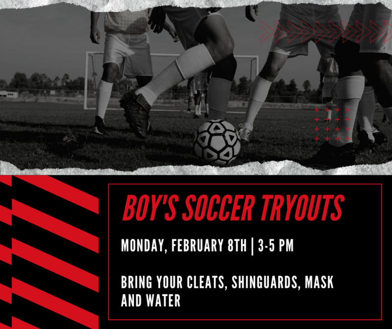 Boy's Soccer Tryouts Featured Photo
