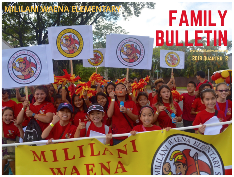 The Quarter 2 Family Bulletin Featured Photo