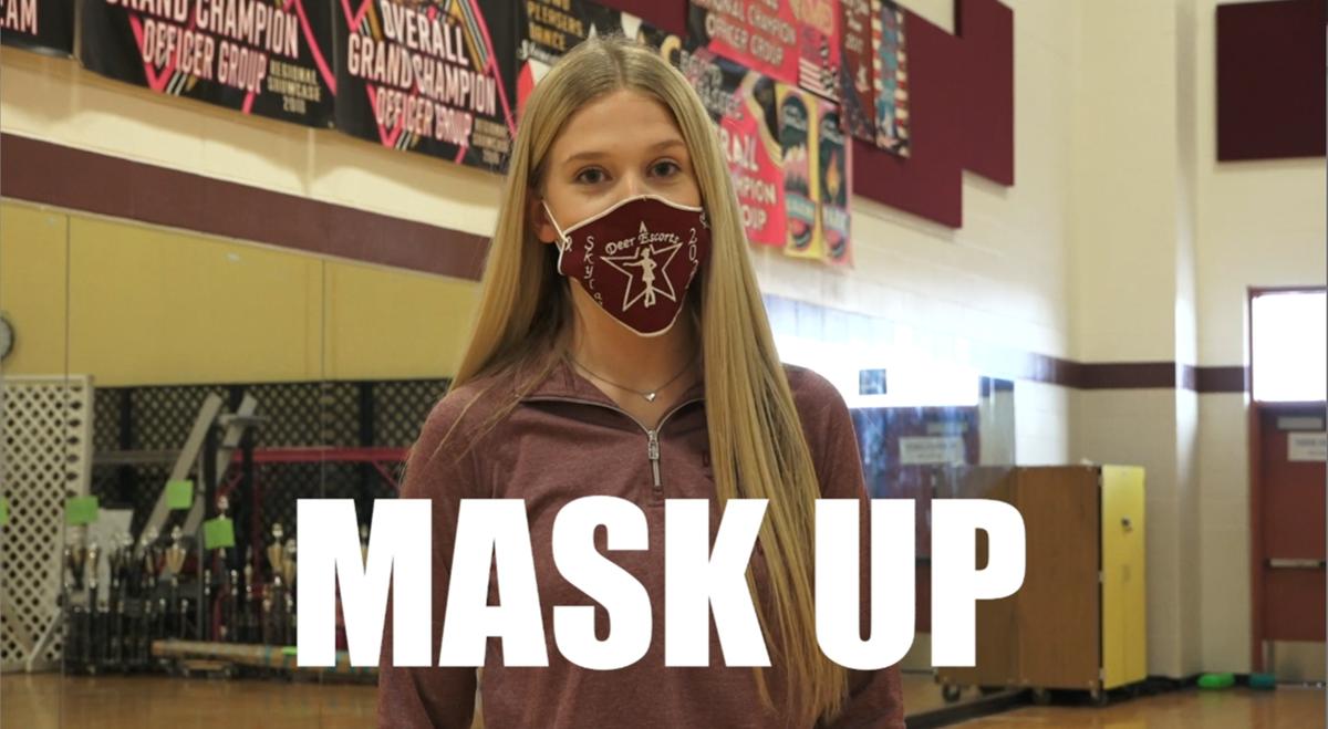 Mask Up Deer
