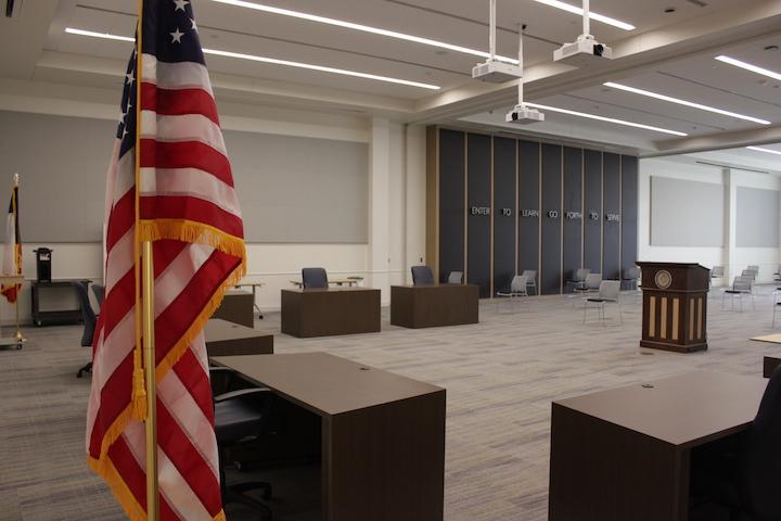 Multi-Use Building Board of Trustees meeting space