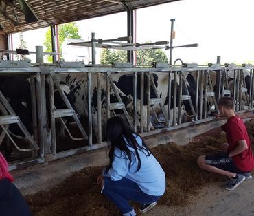 8th grade students at Hemdale Farms 3