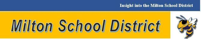 Milton School District and Yellow Jacket Header