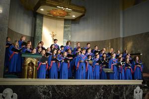 choir at altar