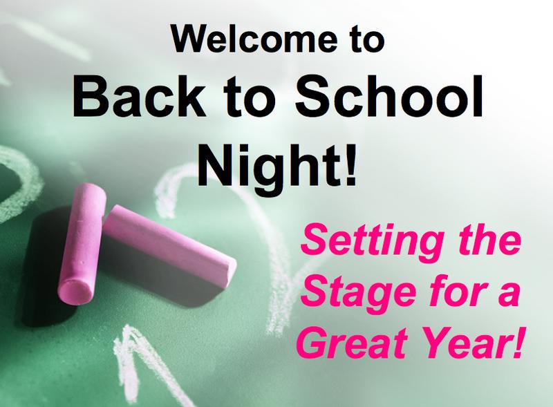 Back to School Night & Hispanic Heritage Celebration Featured Photo