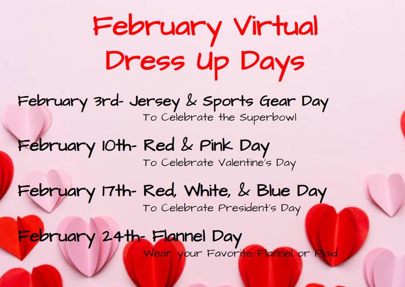 February Dress Up Days