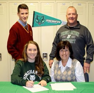 Courtney Moane Signs with Binghamton University Featured Photo