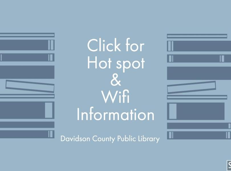 Hot Spot and Wifi Information