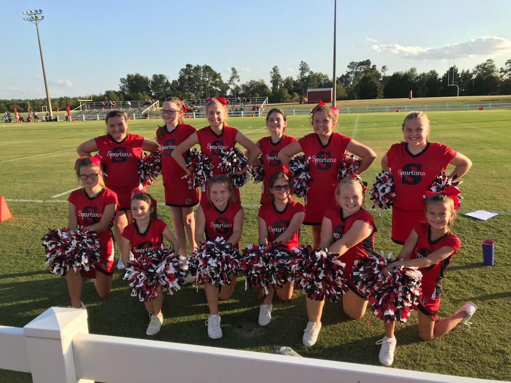 Junior Pro Cheerleaders