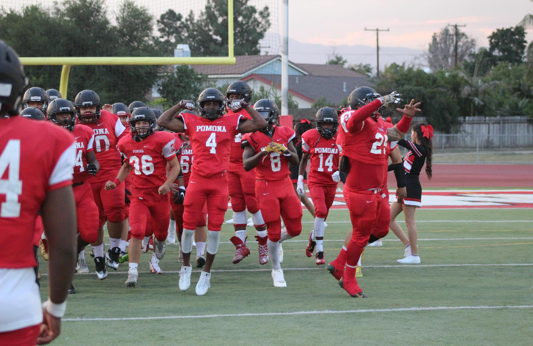 Pomona High School Varsity Football is in the CIF Playoffs! - Congratulations to the coach and all players on your athletic success! Show your support for our Red Devils, let's cheer them on to get that WIN! http://edl.io/n1119429