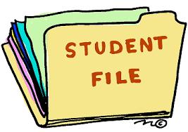 Student File Clip Art