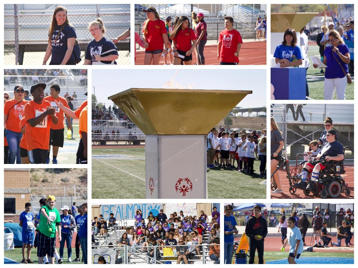 Students Participating in Special Olympics