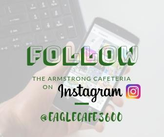 Instagram follow logo @EagleCafe3600