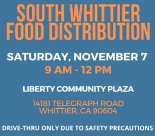Community Food Distribution Event- Saturday 11/7/20- distribución de alimentos el sabado Featured Photo