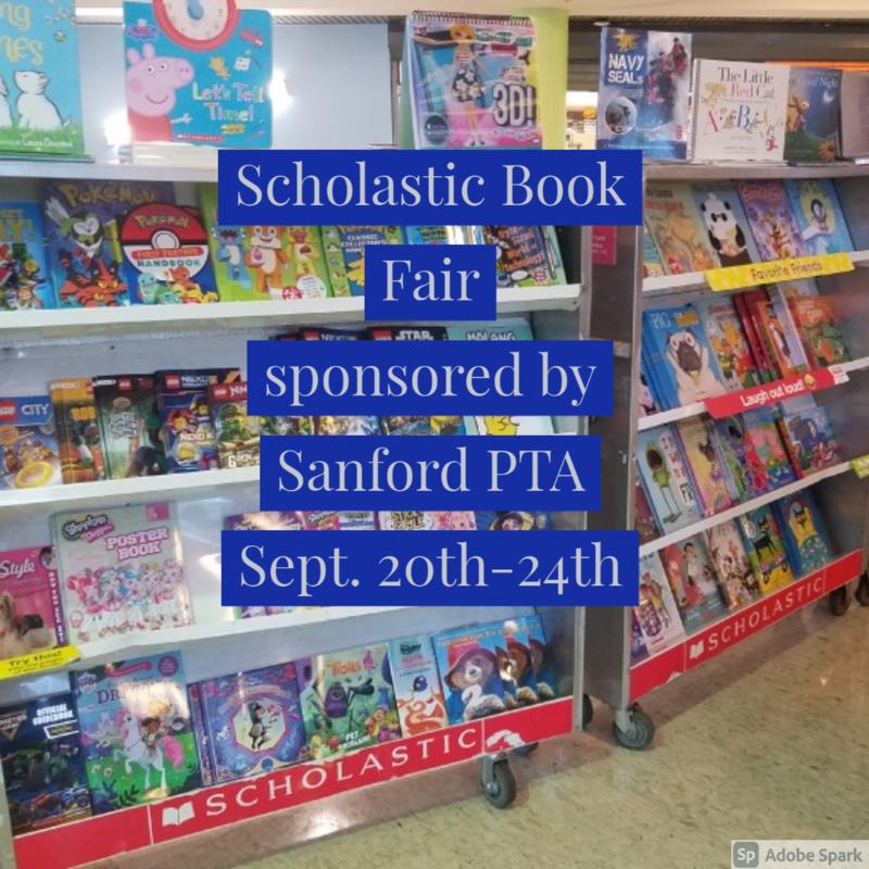 PTA Book Fair Thumbnail Image