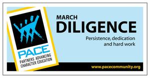 March Diligence Banner