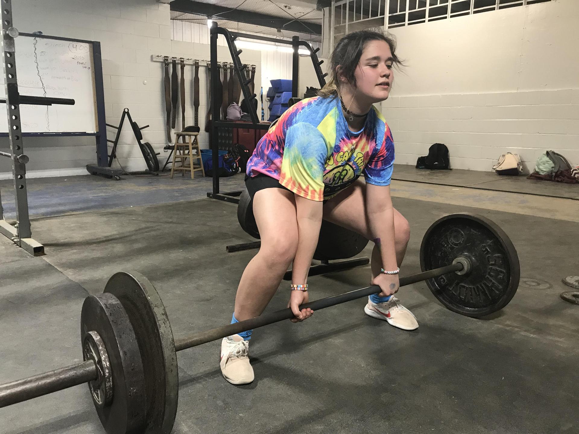 SEHS Girls Powerlifting