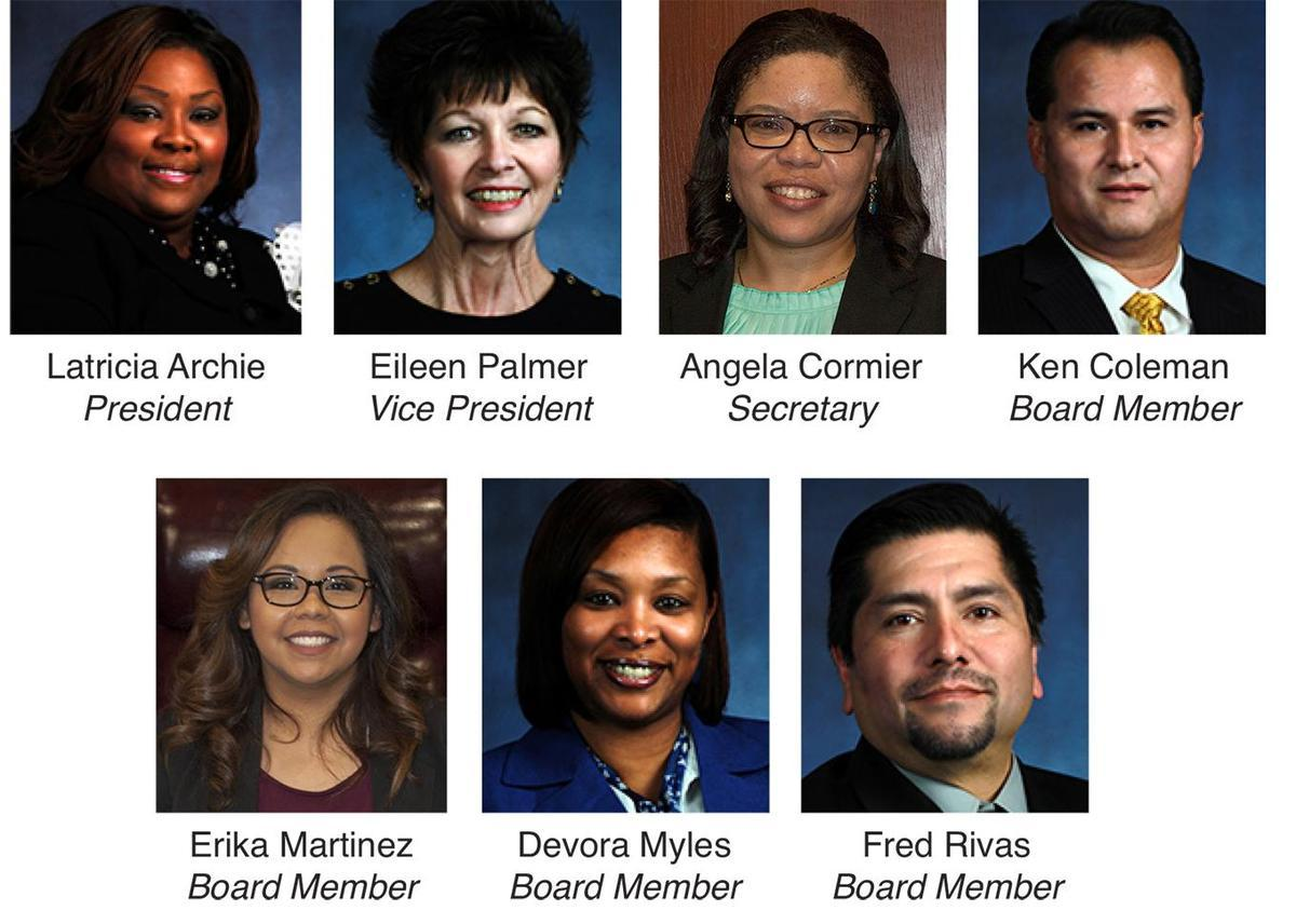 Sheldon ISD School Board Group Photo