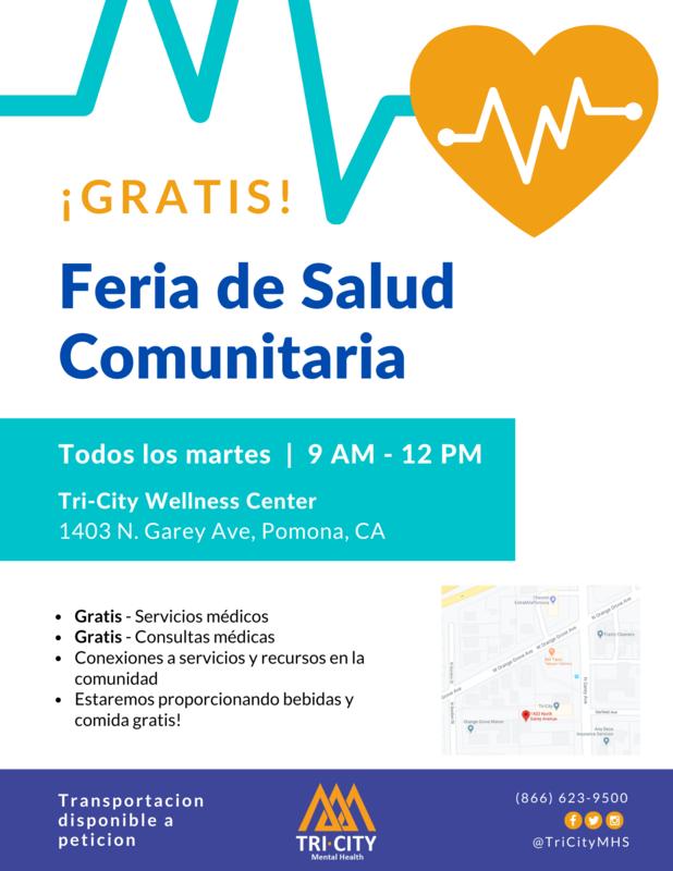 Free Community Health Fair/Gratis de Salud Comunitaria