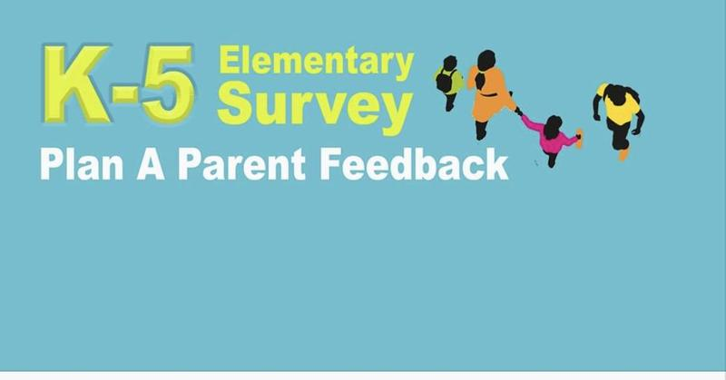K-5 Elementary Survey- Plan A Parent Feedback Featured Photo