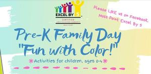 pre-k  family fun flyer pic