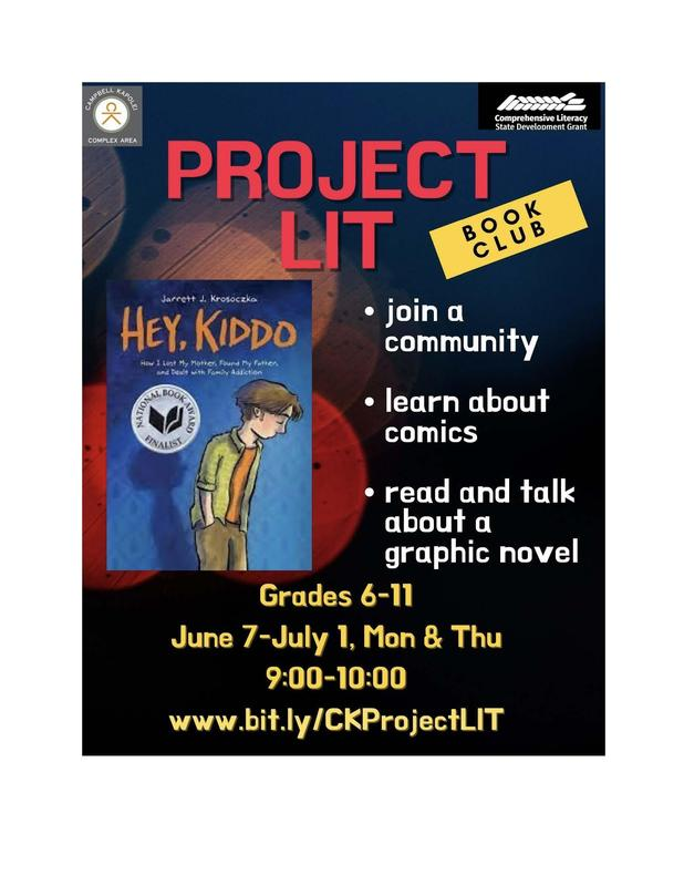 Project LIT CK Summer 2021 Featured Photo
