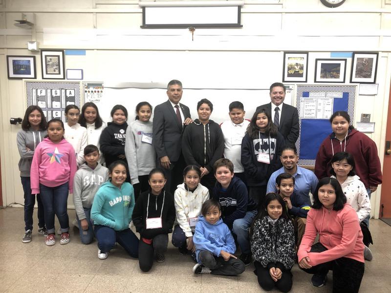 Congressman Cardenas Visits Montague Featured Photo