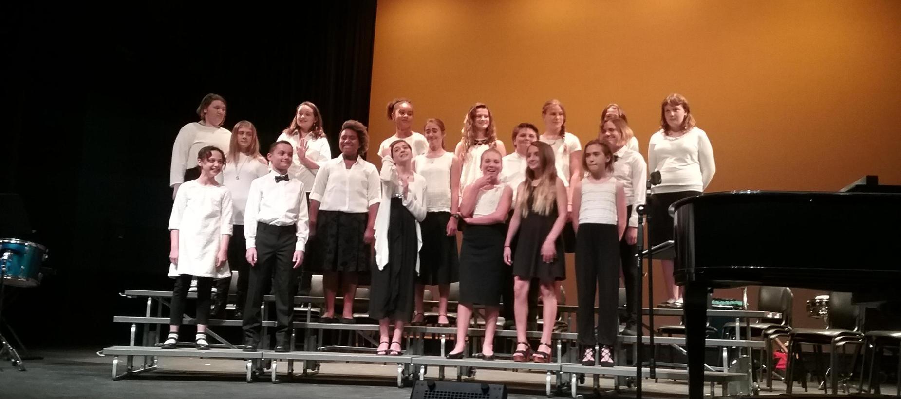 SLVMS Choir
