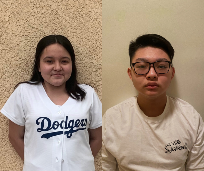 SVHS freshman Melina Estrada and sophomore Zihua Yu were recognized for excellence in bilingual education, winning first place among high school students in the National Association for Bilingual Education (NABE) and the California Association for Bilingual Education (CABE) student essay contests, respectively.
