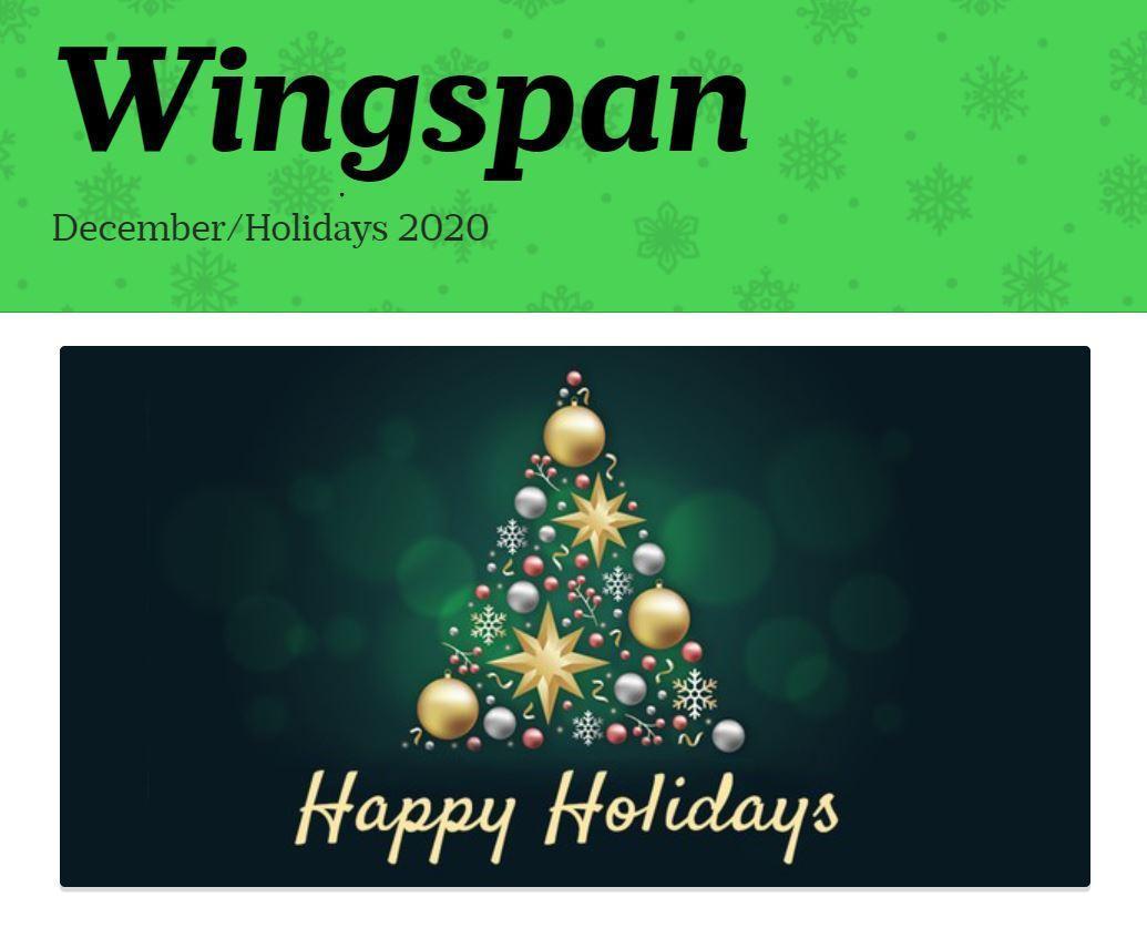 December 2020 Wingspan