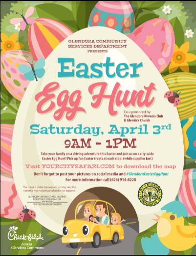 City Easter Flyer
