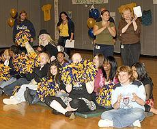 #ThrowbackThursday: 2008 Pep Rally photo