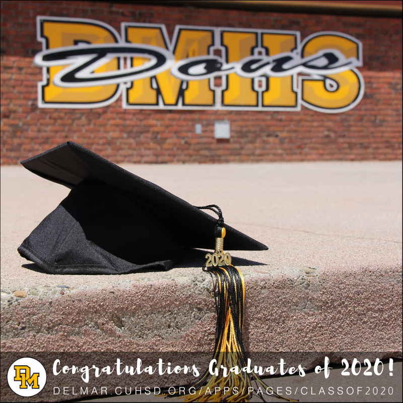 image of graduation day congrats note_june 4, 2020