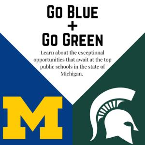 Go Blue + Go Green