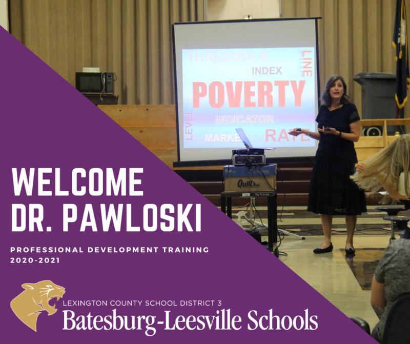 Lexington Three Welcomes Dr. Tammy Pawloski for Staff Training Seminars