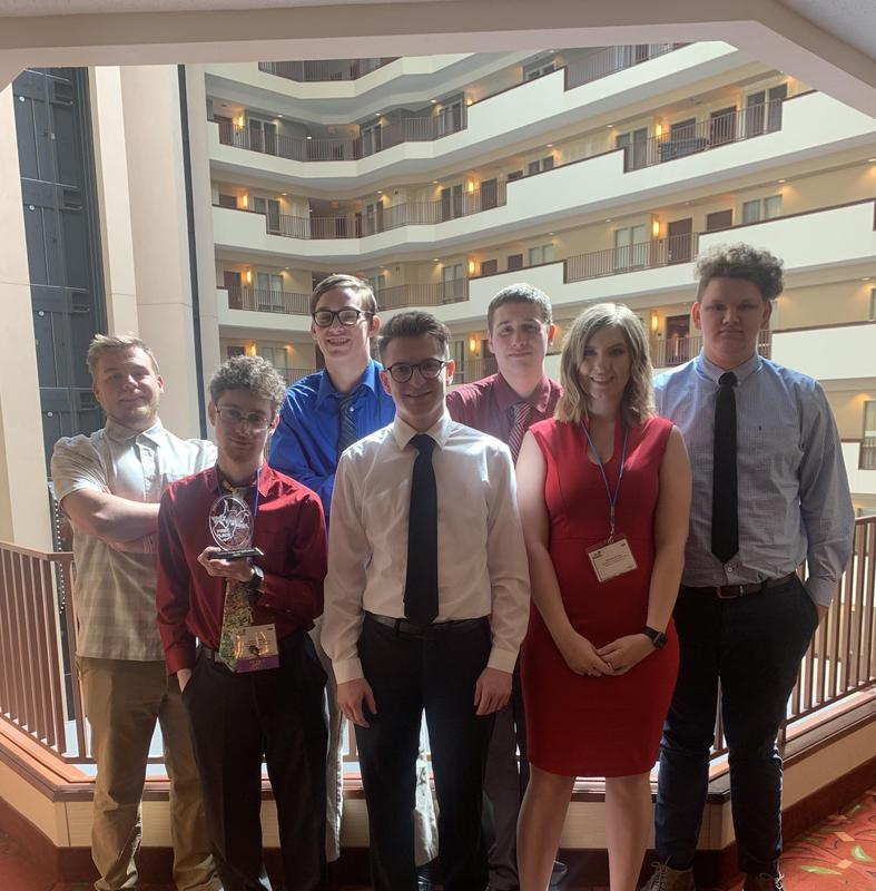 BUHS at the state FBLA competition.
