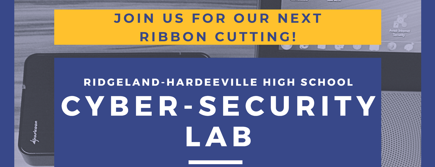 Cyber Security Lab Ribbon Cutting