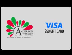 $50 VISA e-Gift Card