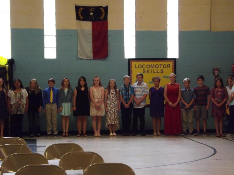 Congratulations to our 5th Grade Class as they become Middle School Students!  We will miss you! Read more about daily annoucements to see more pictures. Thumbnail Image