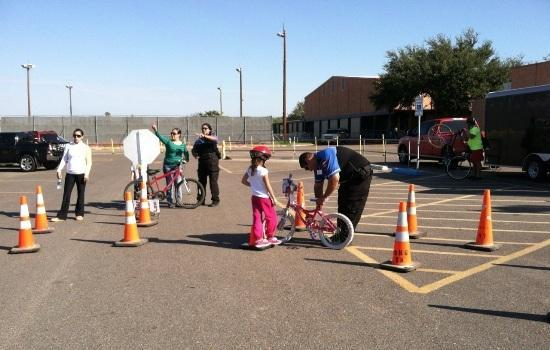 image of - Community involvement students receive bikes for chrismtas