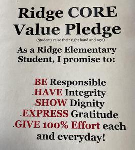 Ridge Core Value