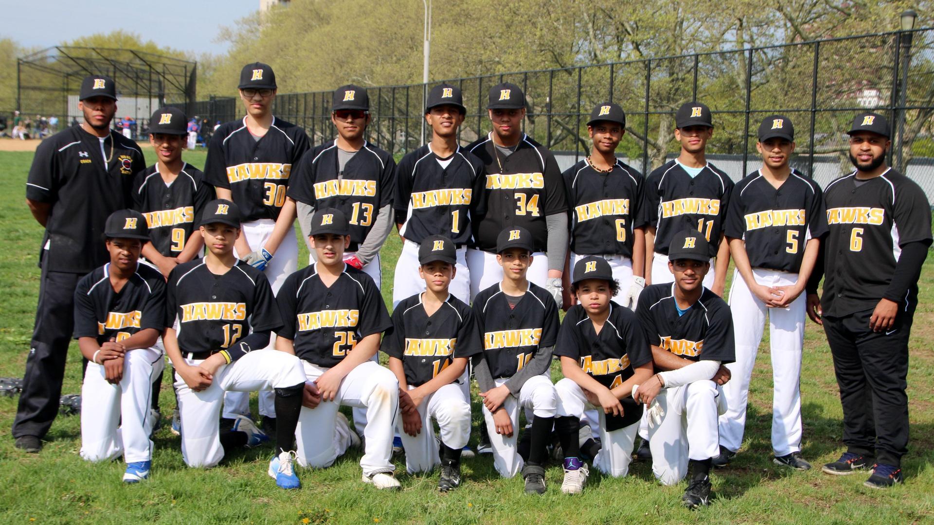 Baseball full team photo