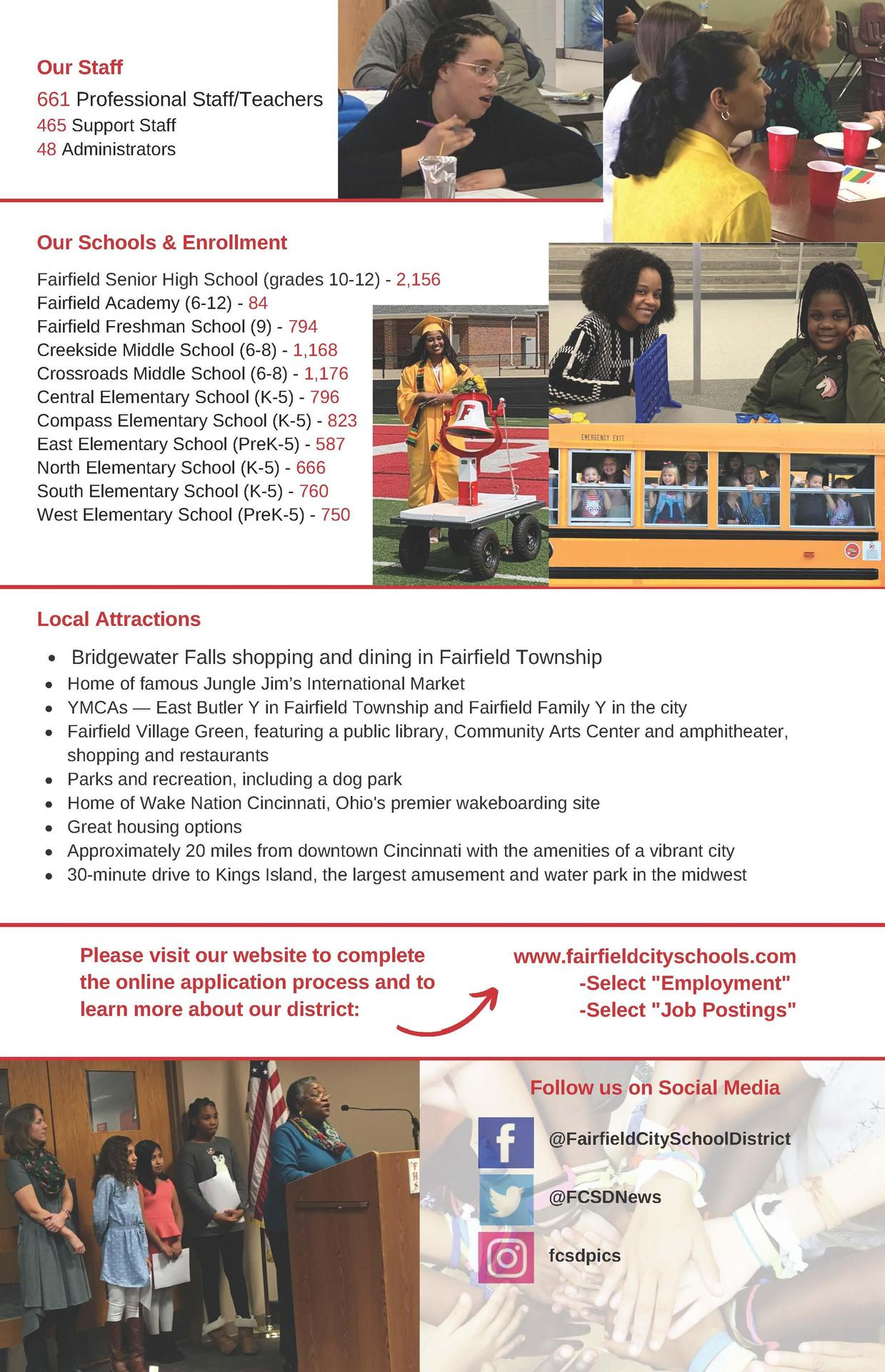 This is an image of the Recruiting flyer for diverse staff. A pdf version is posted at the bottom of this page