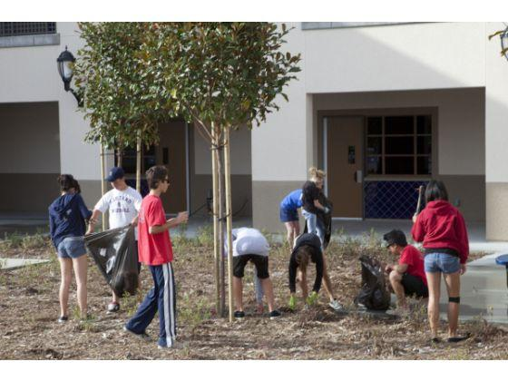 First ever Mustang Pride Day campus cleanup